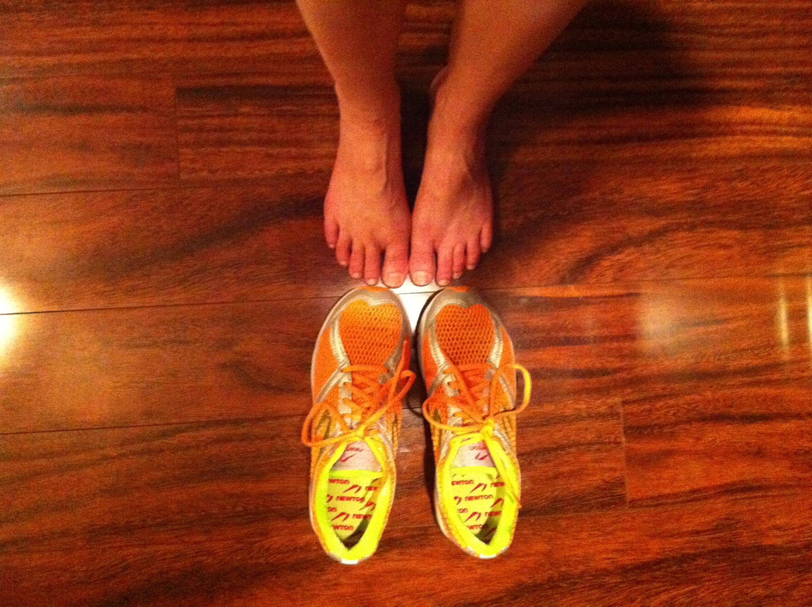 Love me, love my feet.