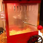 Movie-style popcorn maker: my 2nd fave gift this year (from Clark and Susanne).