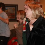 Humbling: Just Dance. That's me with Susanne, my sis-in-law, and a family friend.