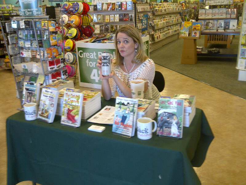 Indie Author Book Signing Success