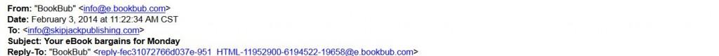 bookbub top