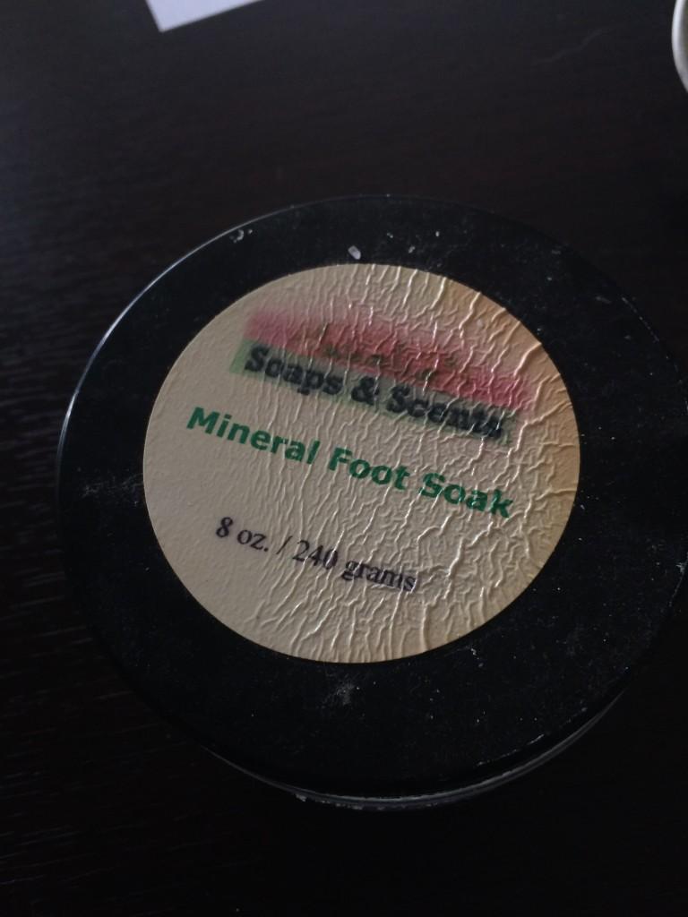 mineral soak