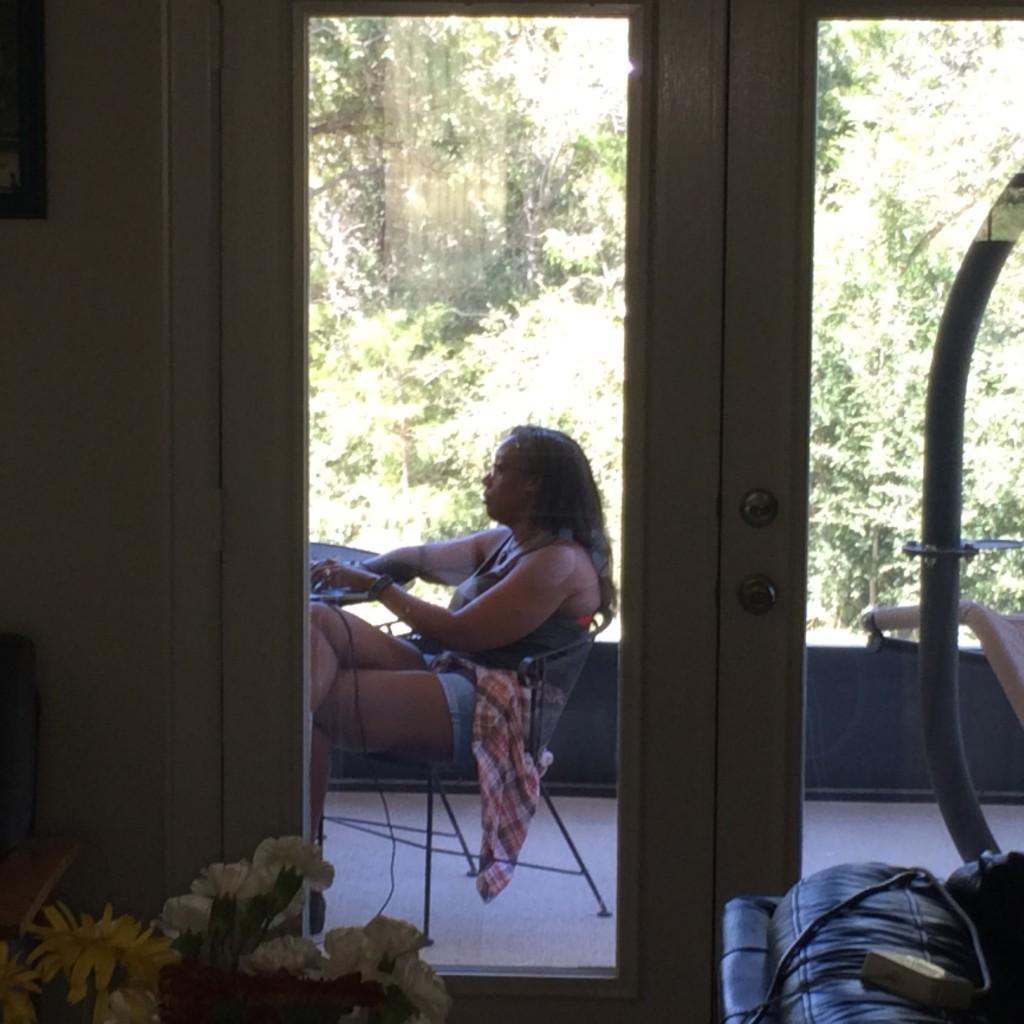 Felicia at retreat
