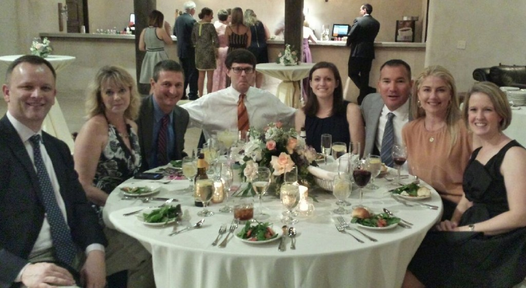 cousins at parks wedding