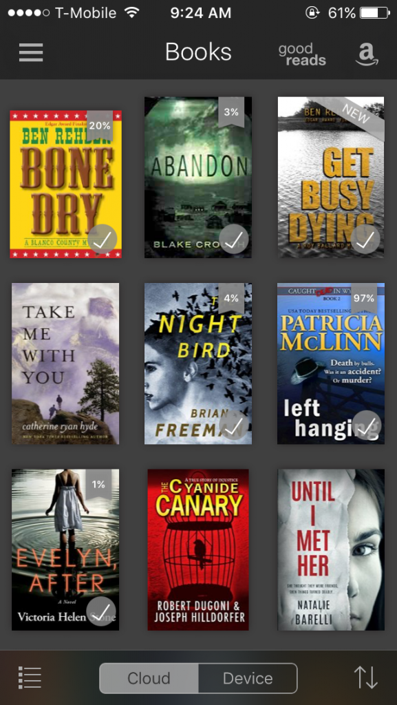 Pamela fagan hutchins what doesnt kill you mysteries page 4 yes i buy a lot of books heres what my kindle and audible screens look like right this second fandeluxe Image collections